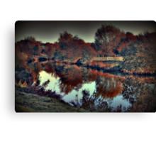 An Autumn afternoon at Teston  Canvas Print