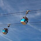 Cable lifts in Spain by azotnarkozu