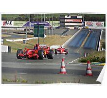 Ferrari Formula One (F1) Poster