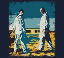 Walter White and Jesse Pinkman ( iPad ) by lab80