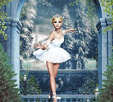 Snow Princess Ballerina  by xgdesignsnyc