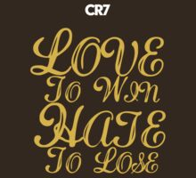 CR7 LoveHate - gold edition by SW7 Design