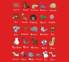 The Animal Alphabet Kids Clothes
