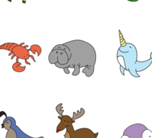 The Animal Alphabet Sticker