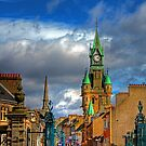 Dunfermline High Street - iPhone Case by Tom Gomez
