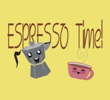 Espresso Time - Cute and Caffeinated. by Weber Consulting