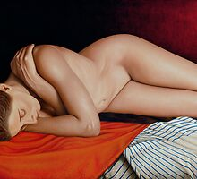 Sleeping Nude by horacio10