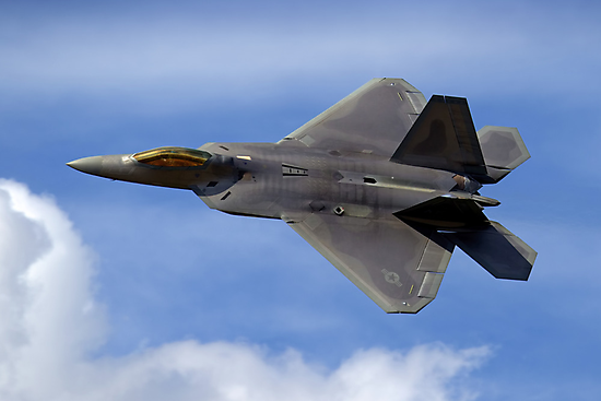 Lockheed Martin F-22A Raptor 06-4108/AK by Andrew Harker