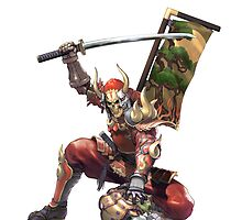 Yoshimitsu iPad case 1 by MrBliss4