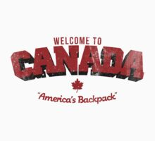 Welcome to Canada by newdamage