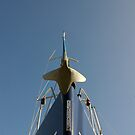Bow of sailing yacht in boatyard, Salcombe, Devon, UK by silverportpics