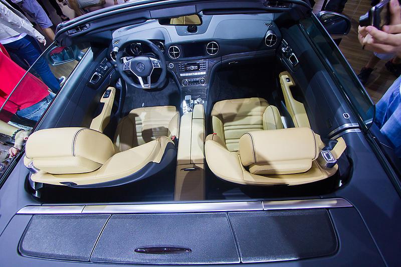 Mercedes-Benz SL 63 AMG Bi-Turbo Inside [ Print & iPad / iPod / iPhone Case ] by Mauricio Santana