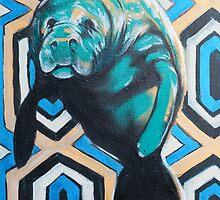 Manatee by AC-Paintings