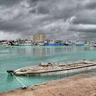 Stormy day in Nassau Harbour, The Bahamas by 242Digital