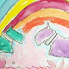 Scotty love rainbow aceo  by passsionflower7
