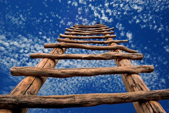 Sky Ladder by LaRoach