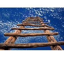 Sky Ladder Photographic Print