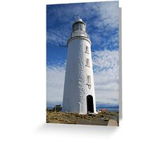 Bruny Island lighthouse Greeting Card