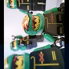 Extreme Team Motorcycle Stunt Team LEGO® Minifigures, by 'Customize My Minifig' by Chillee