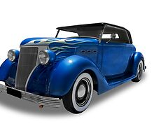 Buick - 1936 Convertable Coupe by axemangraphics