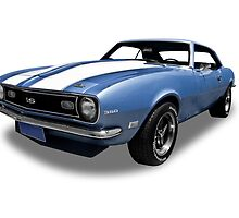 Chevrolet - 1968 SS Camero by axemangraphics