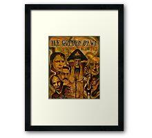The Golden Dawn Framed Print
