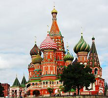 St Basil's Cathedral by John Donkin