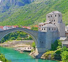 Mostar Bridge by Graeme  Hyde
