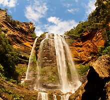 Blue Skies Over Blue Mountains by Kortney Thoma