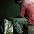 Fishy Man by Magda de Lange