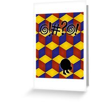 Q-Bert: The Movie Greeting Card