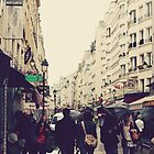 Rainy Paris by Hayleyschreiber