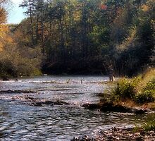 A Fine Fall Fishing Day by Carolyn  Fletcher
