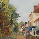 Autumn in Tenterden Kent in UK by Beatrice Cloake