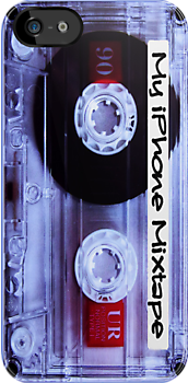 Iphone Mixtape Cassette by Nicklas81