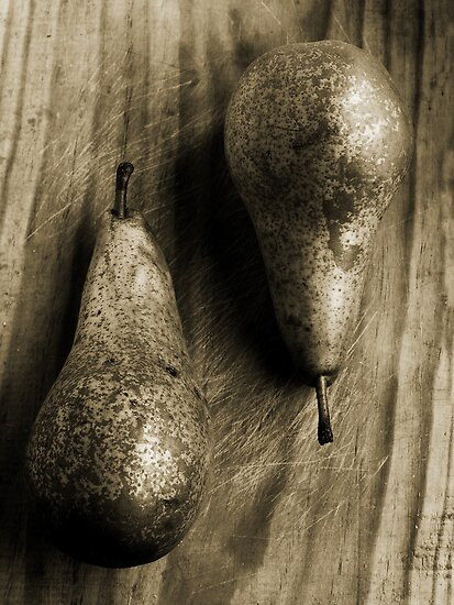 Pears and textures by DavidCucalon