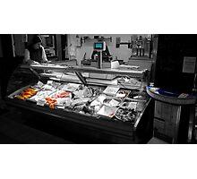 Fish Stall Photographic Print