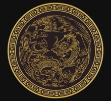 Tradicional chinese Dragon by Chrome Clothing