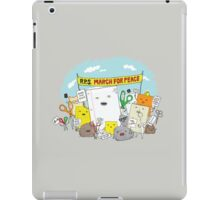 Paper Hugs Rock iPad Case/Skin