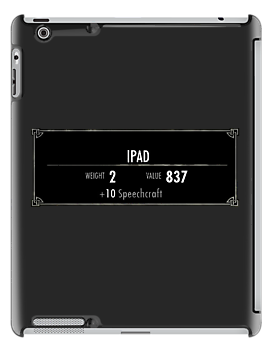 iPhone Stats (Skyrim) by SkinnyJoe