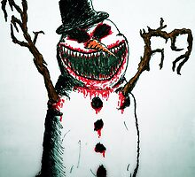 Evil Snowman by Giarctterrab