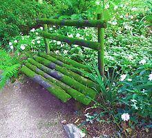 Oporto Fairy Bench by Sue Ballyn
