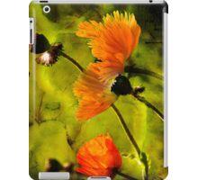 Painted Poppy iPad Case/Skin