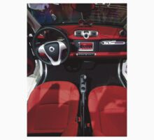 Smart ForTwo Turbo Cabrio Tritop Inside [ Print & iPad / iPod / iPhone Case ] Kids Clothes