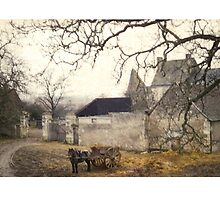 Farmyard in Brittany by alhovey