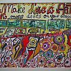 Make Love & Art ,  No more debts on your account. Amen!  by Andrzej Goszcz.  was featured in Diversuality – Queer and Gender. Buy what you like! Views: 352.. by AndGoszcz