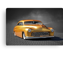 1950 Mercury Custom on B/W Canvas Print
