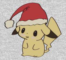 Christmas Pikachu by Cyndy Ejanda