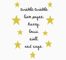Twinkle Twinkle One Direction by AlaJonea