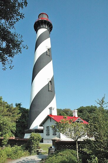 St. Augustine Light Station - 1874 (Florida) by 242Digital